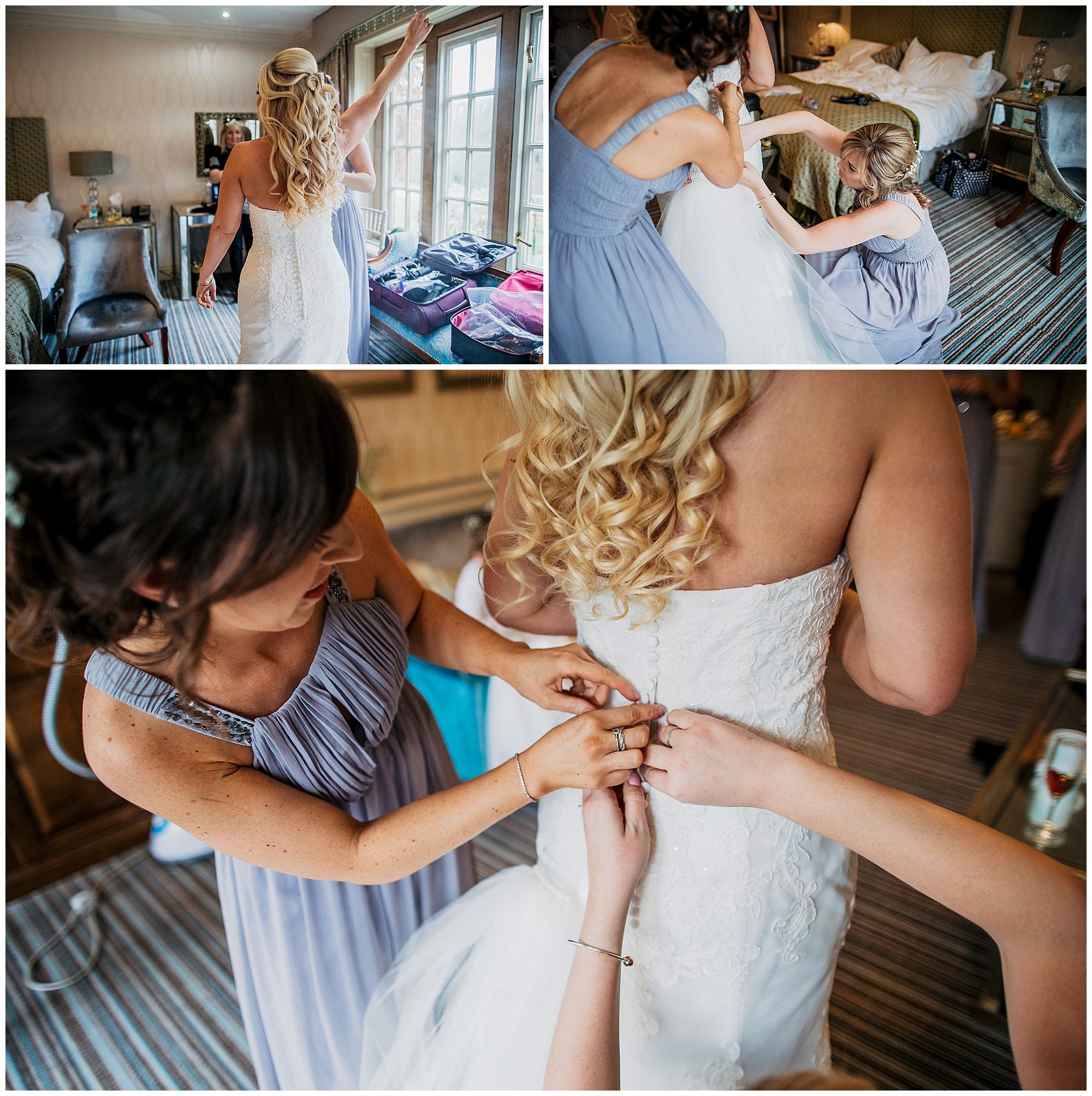 bridal prep at pennyhill park