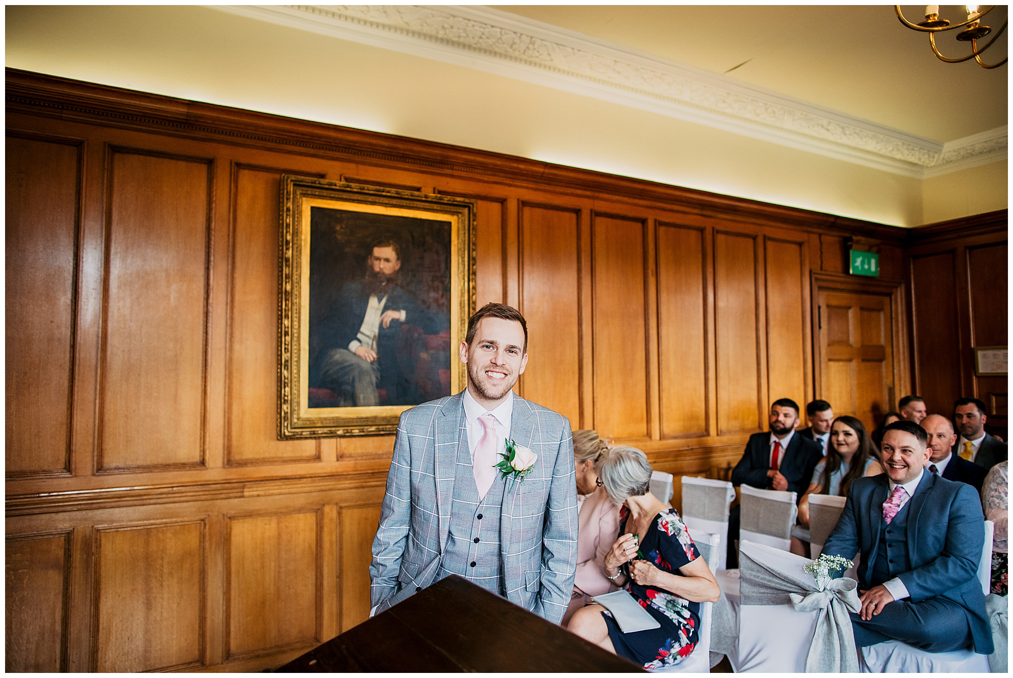 groom at pennyhill park hotel and spa