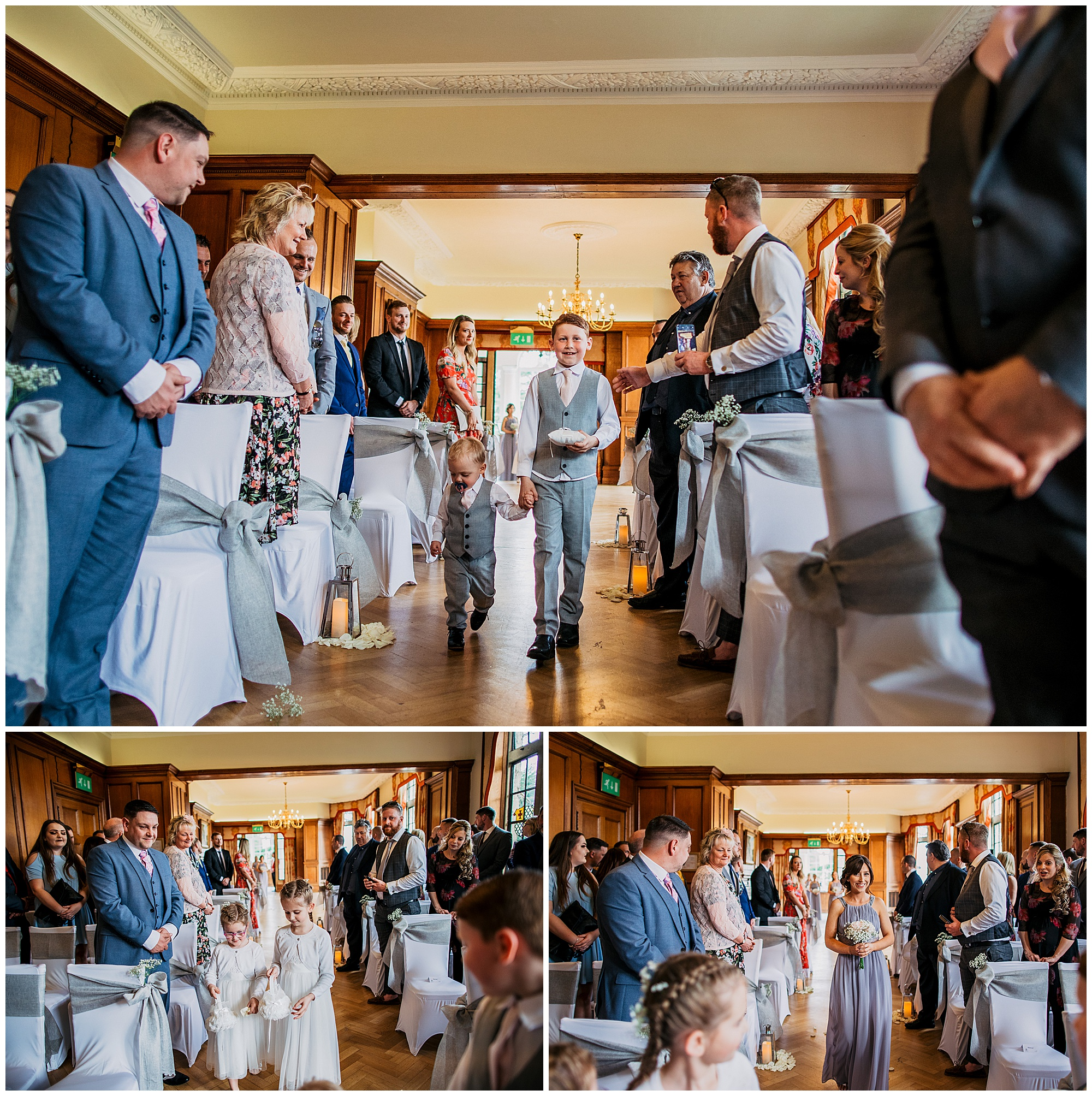ceremony at pennyhill park hotel and spa