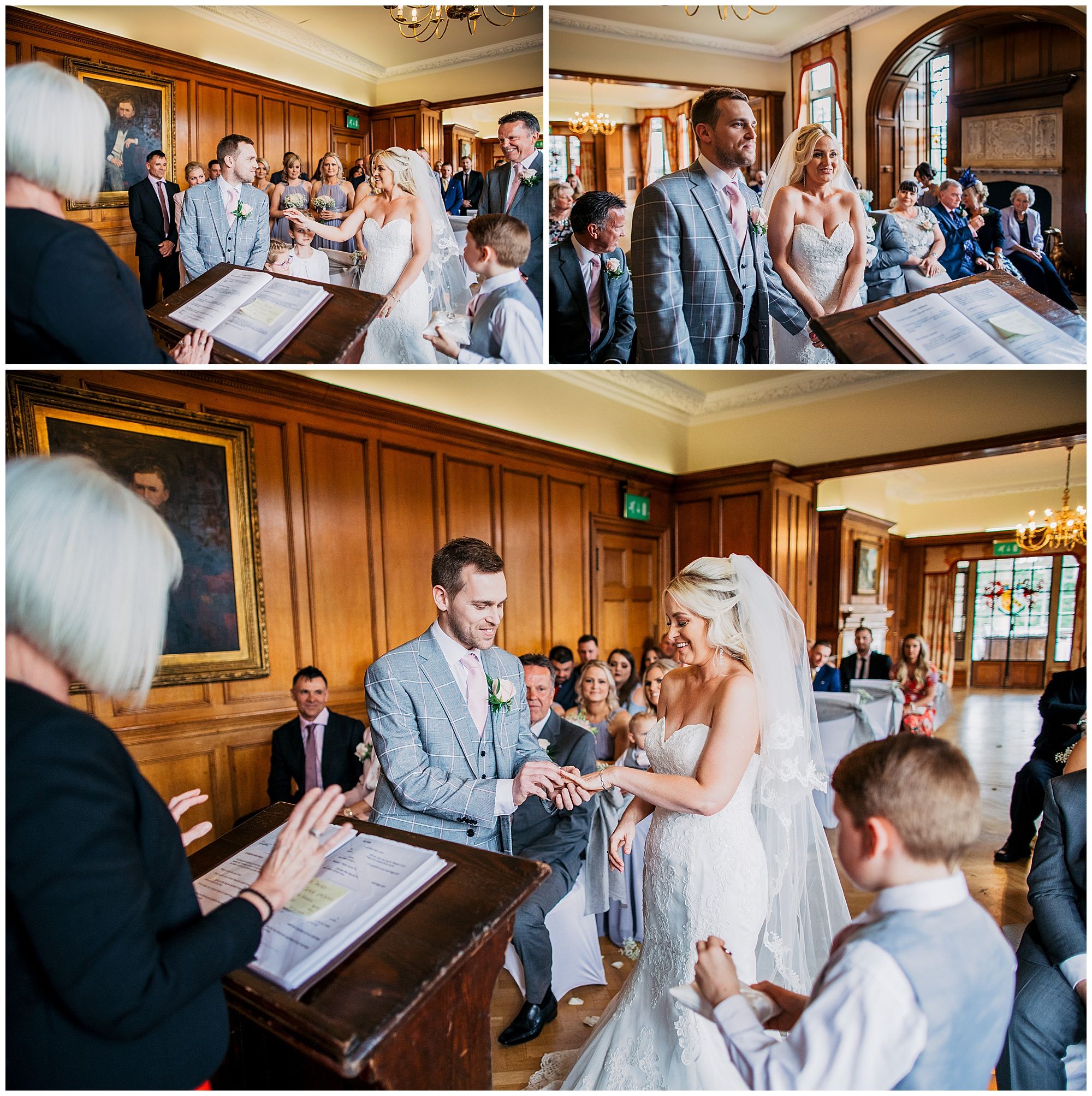 wedding ceremony at pennyhill park hotel and spa