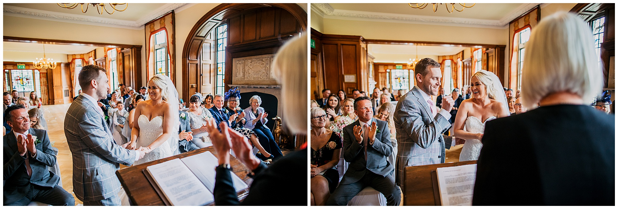 wedding vows at pennyhill park and spa